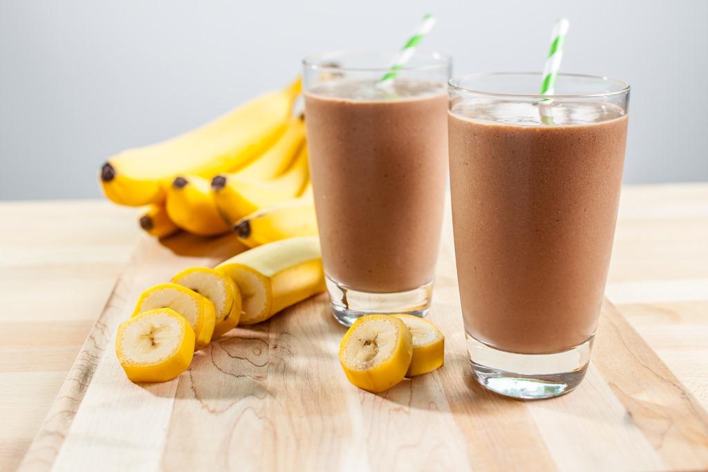 Banana & Oats Protein Shake