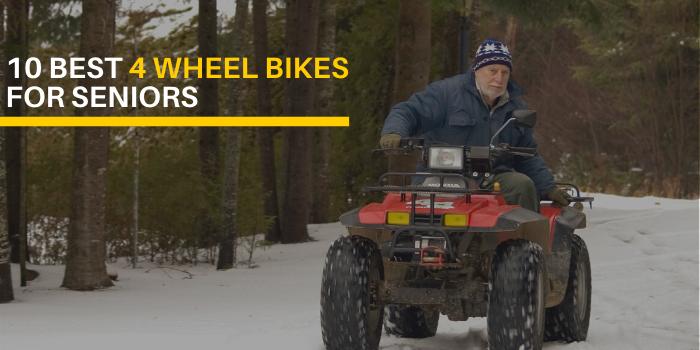 10 Best 4 Wheel Bikes For Seniors