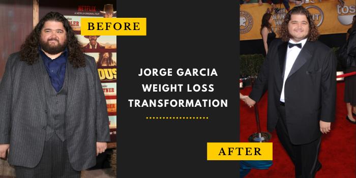 Jorge Garcia Weight Loss Transformation